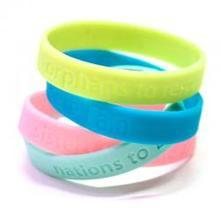 Fashion Silicone Rubber Bracelet