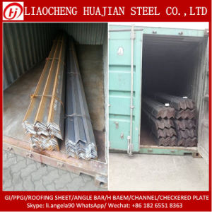 75*75mm Hot Equal Steel Angle with 6m Length pictures & photos