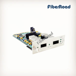 10G Fiber Media Converter Card with XFP to XFP Ports for 16 Slots Chassis
