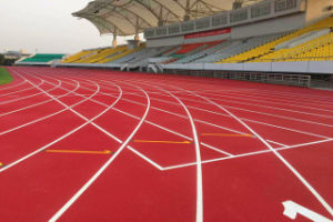 China Factory of Rubber Track and Field Material Athletic Track Surface for Stadium