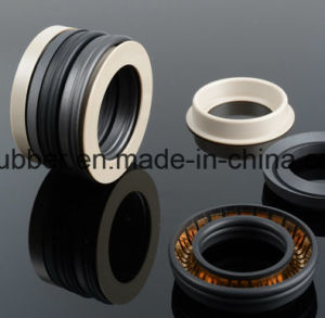 High Performance PTFE and Metal Spring Energized Oil Seal pictures & photos
