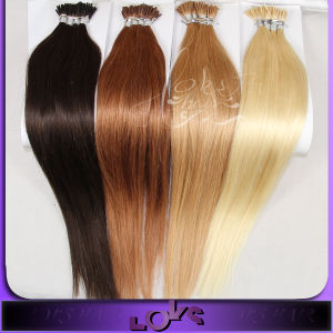 Wholesale 6A Grade Straight European I Tip Hair Extensions