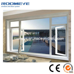 Double Pane Waterproof PVC Casement Window pictures & photos