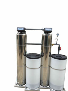 Integral Structure Dual Tank Automatic Water Softener pictures & photos