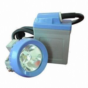 Mine Lamp with 3.7V Rated Voltage, 4ah Capacity and Reliable Working Time Protection