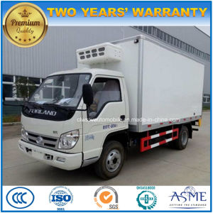 a6bb2bd5ce China 4X2 Forland Small Refrigerated Van 3 Tons Freezer Truck ...