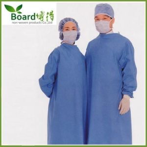 Medical Disposable Hospital Nonwoven Surgeon Isolation Surgical Gown (SC-SG001)