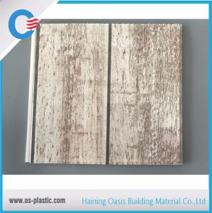 Slab Hot Stamping Decorative PVC Ceiling Panel 7mm Thickness For Ceiling  And Wall