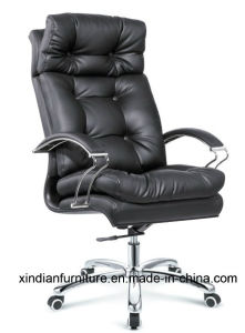 Modern Metal Swivel Leather Meeting Boss Chair For Office