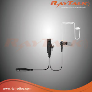 Two-Wire Surveillance Earpiece with Ptt Mic for Motorola Gp328 pictures & photos