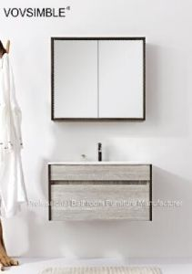 Vov Simble -White Italian Lowes Bathroom Vanity Cabinets