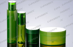Plastic Cosmetic Packaging Aloe Vera Cream Jar Pet Bottle (PPC-CPS-068) pictures & photos