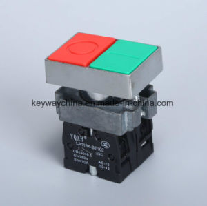 22mm 6V-380V Square Head Push Button Switch pictures & photos