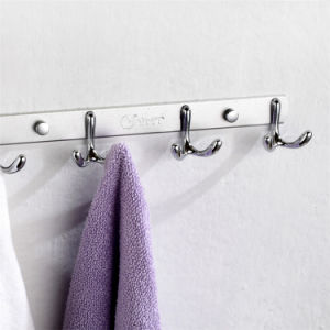 New Design Double Robe Coat Hook for Bathroom and Kitchen pictures & photos