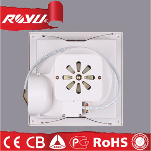 China Low Noise Small Window Bathroom Wall Exhaust Fan Size Inch - Bathroom exhaust fan size