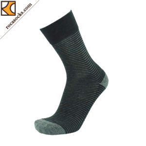 2017 New Design Cotton Dress Socks of Men′s (163010SK) pictures & photos