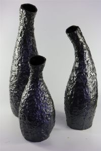 European and American Black Matte Creative Ceramic Vase