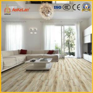 Glazed Ceramic Floor Tile With Oak