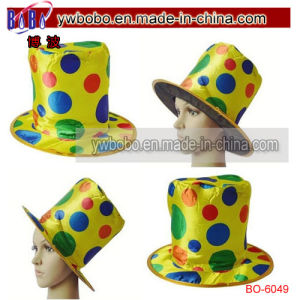 Leisure Cap Sports Hat for Clown Halloween Party (BO-6049) pictures & photos