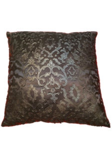 Sr-C170521-2 Filled Laser PU Decorative Cushion
