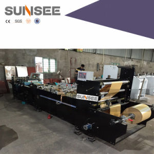 Paper Bag Making Machine, Paper Middle Sealing Bag Machine pictures & photos