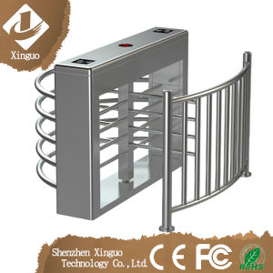 Singel Lane Security Baffle Gate Full Height Turnstile pictures & photos