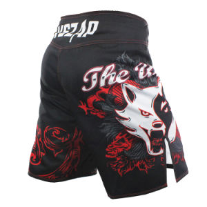 Muay Thai Fight Shorts MMA Grappling Kick Boxing Short for Adult pictures & photos