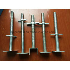 Durable Steel Galvanized Adjustable Scaffolding Screw/Levelling Jack Base