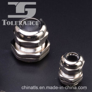 Wire Sealing Nickle Plated Brass Cable Gland with IP68