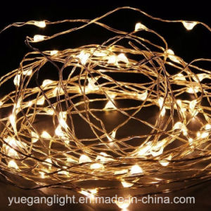 High Quality Wholesale Mini Copper Wire Micro-LED String Lights for Decoration