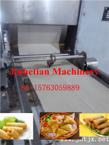 Automatic Industrial Crepes Sheet Making Machine Price|Factory Supply Spring Roll Making