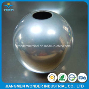 Epoxy Polyester Chrome Mirror Silver 500% Glossy Powder Coating Manufacturer pictures & photos