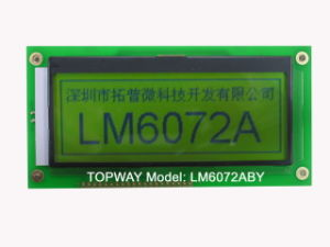 192X64 Graphic LCD Display Cog Type LCD Module (LM6072A) pictures & photos
