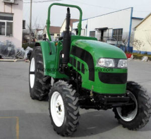 60HP 4WD Foton John Deere Farm Tractor with Disc Plough Harrow pictures & photos