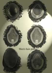 Hand Knotted Different Base Hair Systems Toupees pictures & photos