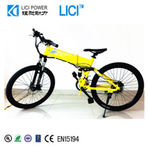 China Full Size Suspension 250w Folding Electric Bicycle Lc Z3 S