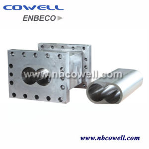 Twin Extruder Screw Barrel for Extrusion