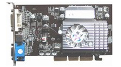 Ati 9550 256m/128m Graphic Card/Video Card