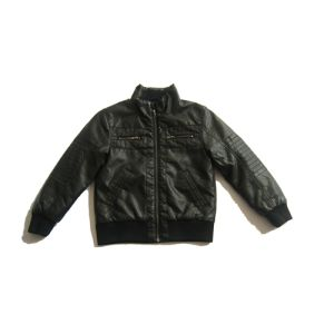 More Comfortable, 100% Polyester, Children PU Jacket