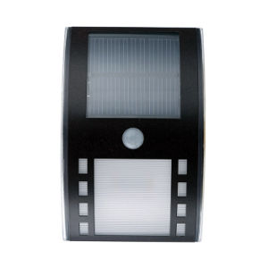 China Pir Montion Aluminum Wall Mounted Solar Lamp Led Garden Lights China Solar Lamp Led Garden Solar Lights