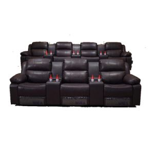 China Two Lines 3 Seater Theater Couch