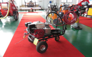 Hand Push Airless Spraying Road Marking Paint Machine pictures & photos