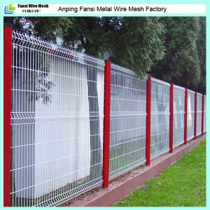 Quality Urance Pvc Coated Welded Wire Mesh Garden Fencing