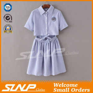 Women Fashion OEM Sweater Dress with Buttons