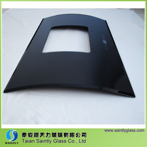 Best Price 6mm Bent Tempered Glass for Cooker Hood