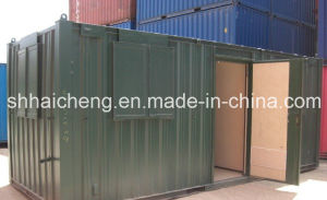 20ft Site Canteen / Mess Unit Containers with Colourful Painting (shs-fp-kitchen&dining007) pictures & photos