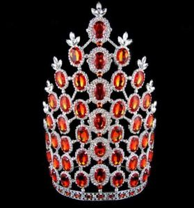 china wholesale pageant crown tall tiara of ky tiaras and crowns