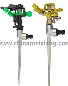 G 1/2′′ Plastic Lawn Garden Sprinkler Head with Spike Equipment (MX9703) pictures & photos