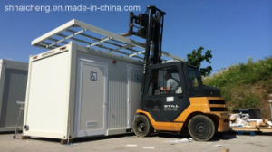 Prefab Container Toilet with Forklift Hole (shs-fp-sanitory011) pictures & photos