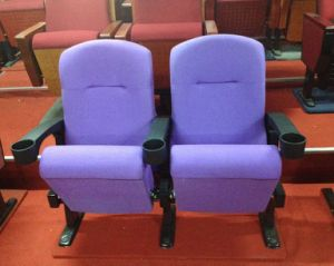 Good Quality Good Price with Cup Holder Lined Theater Chair